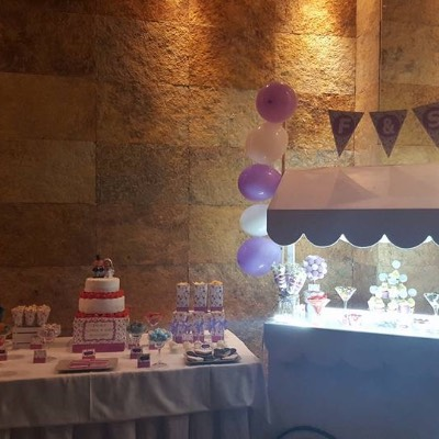 Candy bar liba/ blanco boda 2
