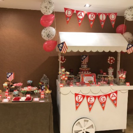 Candy bar Atletico de Madrid 2